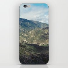 Angeles National Forest II iPhone & iPod Skin