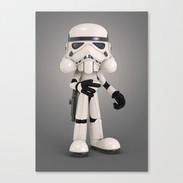 Skull Trooper Canvas Print