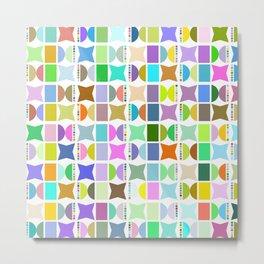 Geometric pattern 2b Metal Print
