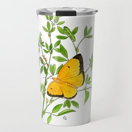 Clouded Sulfur Travel Mug