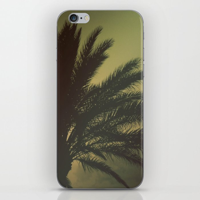 Mysterious sunset iPhone Skin