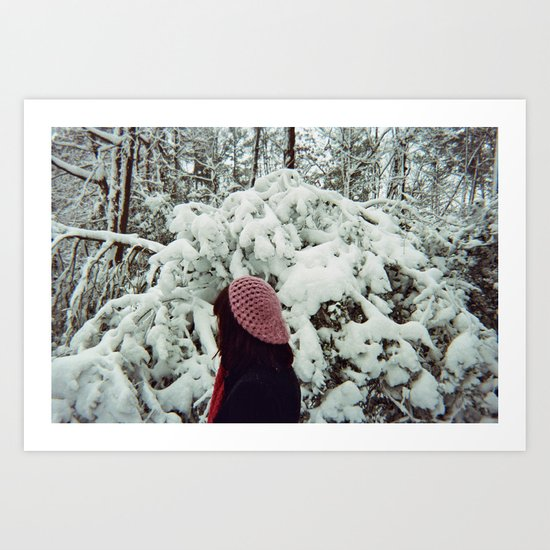 Voices in Winter Art Print