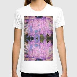 Reflective Crackling Lonesome Flower T-shirt