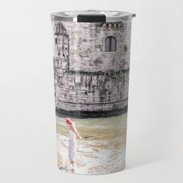 Belem Tower girl Travel Mug