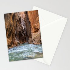 Swept Away (The Narrows, Zion National Park, Utah) Stationery Cards