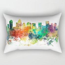 Charlotte, North Carolina Skyline SP Rectangular Pillow