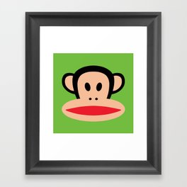 Monkey by Paul Frank Framed Art Print