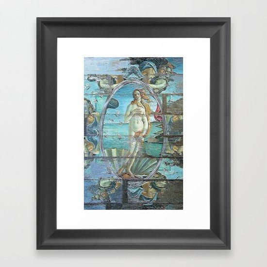Vintage Venus Framed Art Print
