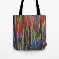 waterfall Tote Bags featuring WATERFALL by Uta Krauss