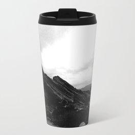 Foggy Rocks Travel Mug