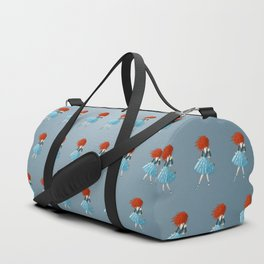 Red - Haired Lass Duffle Bag