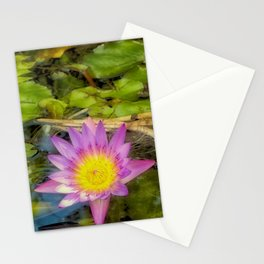 Stunning waterlily Stationery Cards