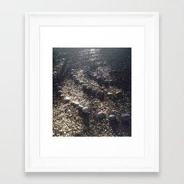 Sacred Labyrinth Walk Framed Art Print