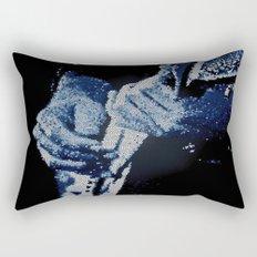 Mosaic Blues Rectangular Pillow
