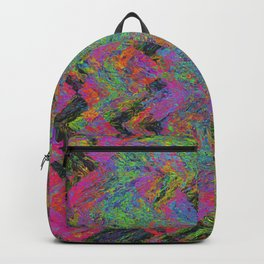 Abstracting Pink Backpack