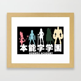 Honnoji Academy Framed Art Print