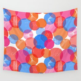 Bauhaus Bubbles Wall Tapestry