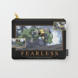 """INK-SPIRATION!: """"Fearless"""" Carry-All Pouch"""