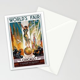 Vintage World's Fair Chicago IL 1933 Stationery Cards