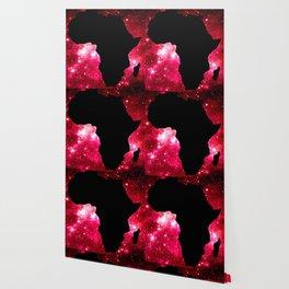 Galaxy Africa Red Wallpaper