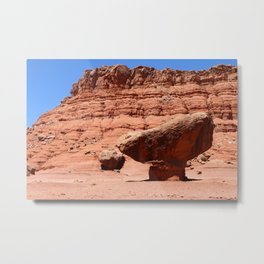 Marble Canyon Balanced Rock Metal Print