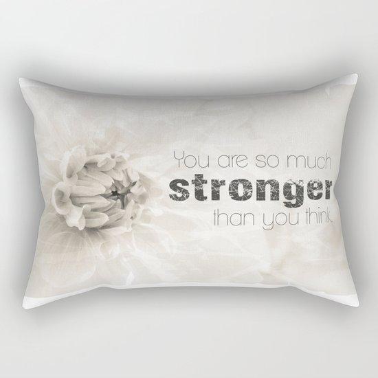 Spring Dahlia II - Be Strong Rectangular Pillow