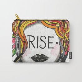 "Words Within: ""Rise"" Carry-All Pouch"