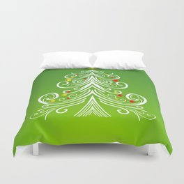 Christmas decorations 4 Christmas tree Duvet Cover