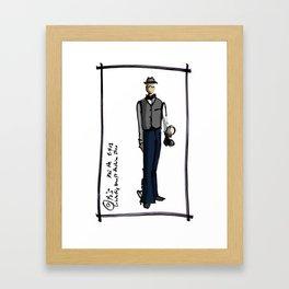 Kai He Framed Art Print