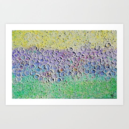 :: Internal Meadow :: Art Print