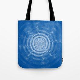 Ripples_blue Tote Bag