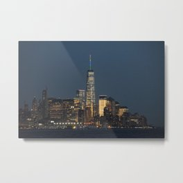 NYC Skyline Freedom Tower Metal Print