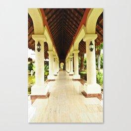 Palace Pathway Canvas Print