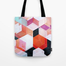 White Paint and Some Colors Tote Bag