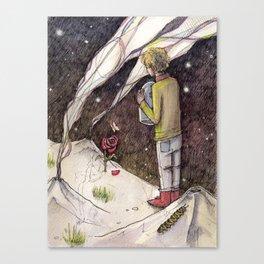 """Le Petit Prince """"Responsible"""" Canvas Print"""