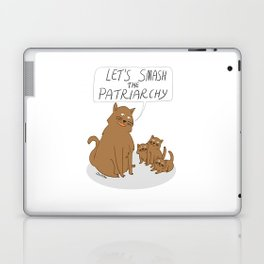 Let's Smash The Patriarchy Kittens Laptop & iPad Skin