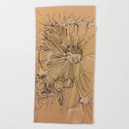 Dandelion #1 Beach Towel