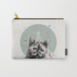 Calico Cat Birthday Carry-All Pouch