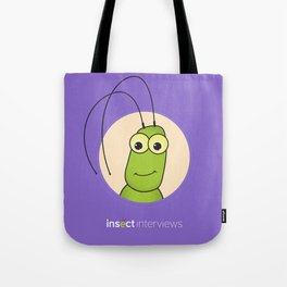 Kevin the Katydid Tote Bag