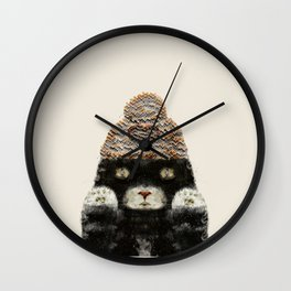Indy Kitten Wall Clock