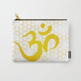 Om, Honey - Gold Carry-All Pouch