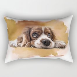 King Charles Cavalier Rectangular Pillow