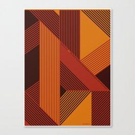 Design is a Mix Canvas Print