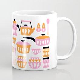 My Midcentury Modern Kitchen In Pink And Tangerine Coffee Mug