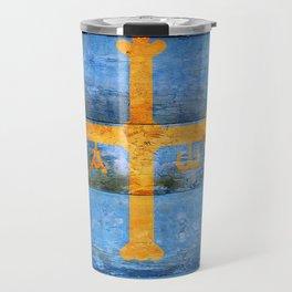 Asturias flag Travel Mug