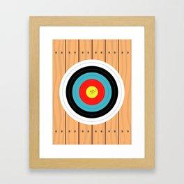 Shooting Target Framed Art Print