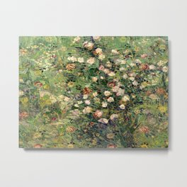 Vincent and William's Roses Metal Print