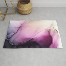 Enchanted 1 - abstract alcohol ink Rug