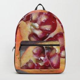 Pomegranate Still Life Backpack