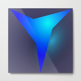 the blue ever Metal Print